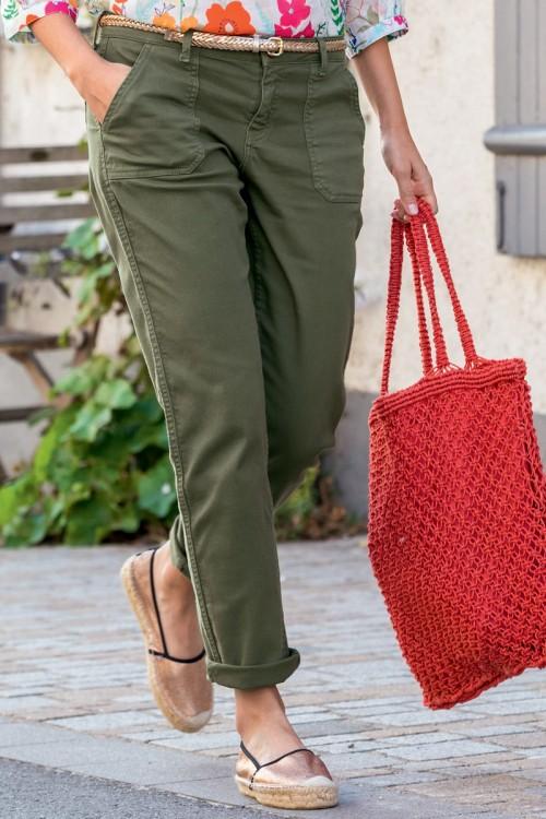 Pantalon toile avec poches